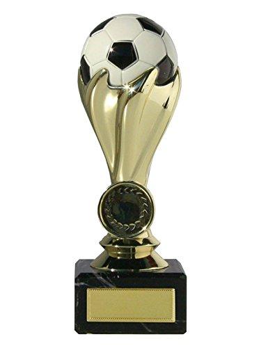 Trofeo copa fútbol con balón oro y plata: Amazon.es: Deportes y ...