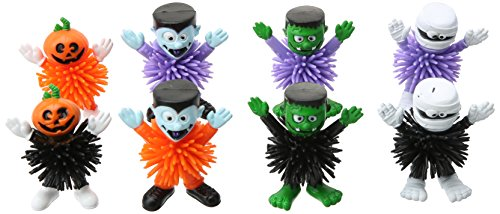 Squishy Frankenstein (Family Friendly Halloween Trick or Treat Creepy Creatures Woolies Party Favour, Rubber, 2