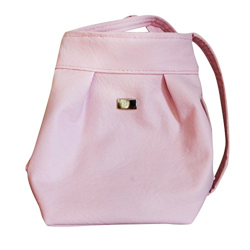Small Young Girl Shoulder Strap Toy Tote Purse (Pink) by Handmade Mexico