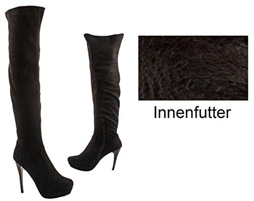 Elara - botas clásicas Mujer negro