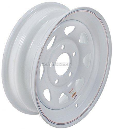 AMERICANA 20428 15X5 SPK 5H-5.0 WH STR by Americana Tires & Wheels