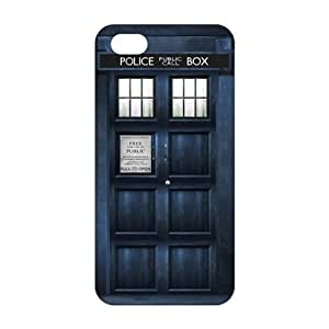 Evil-Store Doctor Who police box 3D Phone Case for iPhone 4/4s