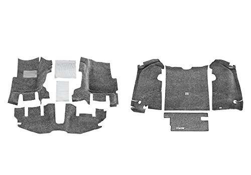 BedRug Jeep Combo Kit - BedRug CBRTJ97 fits 1997-06 TJ (w/ console) (Includes Front and Cargo Kit)