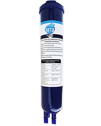 Whirlpool 4396841 4396710 Compatible Refrigerator Water Filter Pur Filter 3 EDR3RXD1 Push Button Kenmore 46-9020