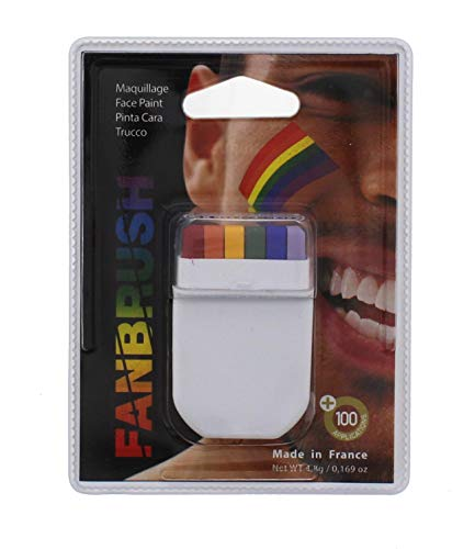 Zac's Alter Ego® Gay Pride Festival Rainbow Flag Crayon -