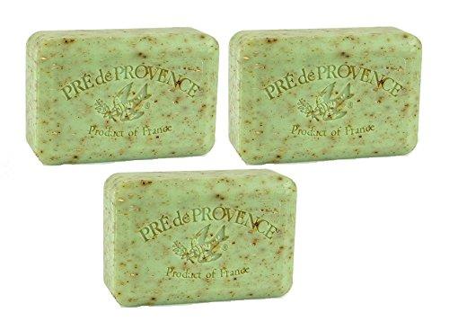 Pre de Provence Sage Soap 250 g (3 Pack) (Provence Pre De Moisturizing Soap Bar)