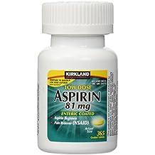 Kirkland Low Dose Aspirin 81 Milligram 365 Enteric Coated Tablets