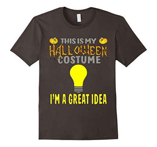 Mens Great Idea Halloween Costume T-shirt Medium (Great Halloween Ideas)
