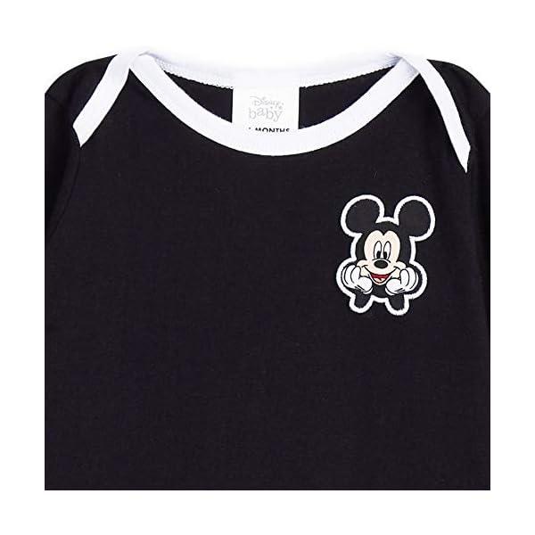 Disney Tutina Neonato di Topolino, Tutine Mickey Mouse da 0 a 24 Mesi, Pigiama Intero Bambina con Cappello, Pagliaccetto… 5