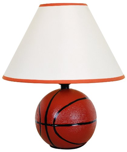 H.p.p Inc 12''h Ceramic Sports Basketball Table Lamp