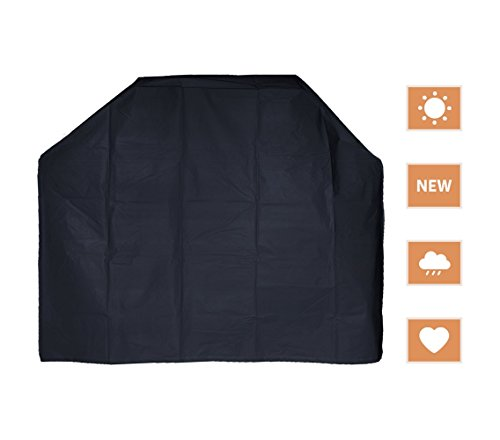 RockyMRanger 57 Inch BBQ Cover Universal Electric Gas Barbecue Grill Water Resistant Protection YQ5AB (57''Wx24''Dx46''H YQ5AB)