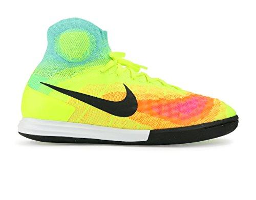 Nike Mens Magistax Proximo Ii Inomhus Volt / Svart / Hyper / Turkos Fotbollsskor