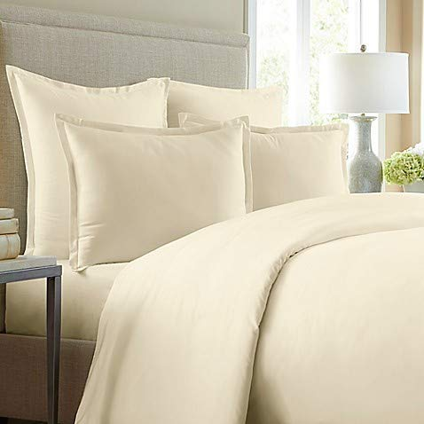 Wamsutta 620-Thread-Count Solid King Duvet Cover in