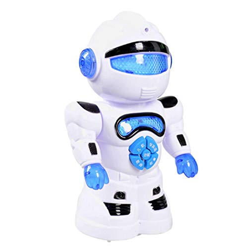 Evelove Toddler Multifunctional Smart Robot LED Music Kids Education Toys Music & Sound from evelove