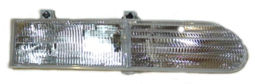Partslink Number FO2503111 Unknown OE Replacement Ford Taurus Passenger Side Headlight Assembly Composite