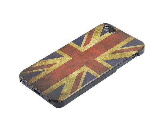 Xcessor Royaume-Uni UK Drapeau Vintage Dur Dos Étui Coque Housse De Protection Pour Apple iPhone SE / 5 / 5S