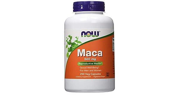 Amazon.com: Pastillas Maca Para Hombres - Aumenta La Testosterona Y Potencia Sexual Masculina - 250 Cápsulas: Health & Personal Care