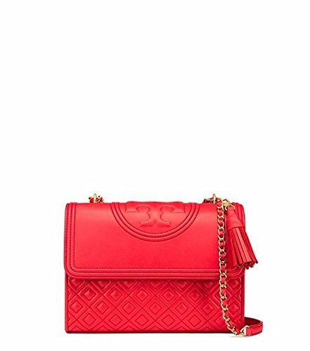 Tory Burch Fleming Convertible Shoulder Bag (Red - Burch Red Tory