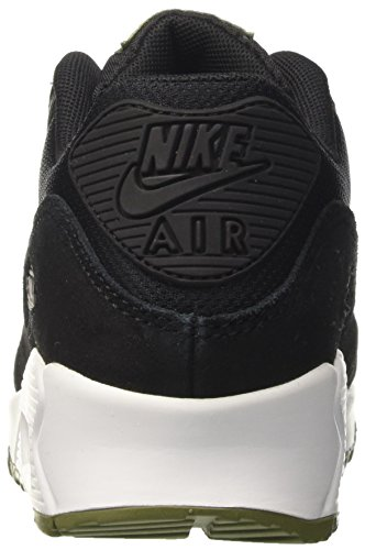 NIKE Nero Donna Black Silver Air 90 White Mtlc Scarpe Palm Max Running Green rnH1qarw