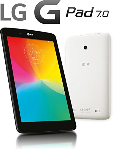 LG G Pad V410 16GB Unlocked GSM 7-Inch 4G LTE Android Tablet PC – Dark Gray (No Warranty)