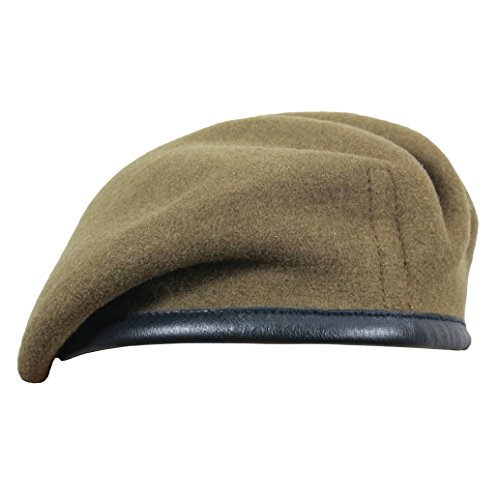 33739690748a4 High Quality Military Beret - British Made - 100% Wool in Black ...