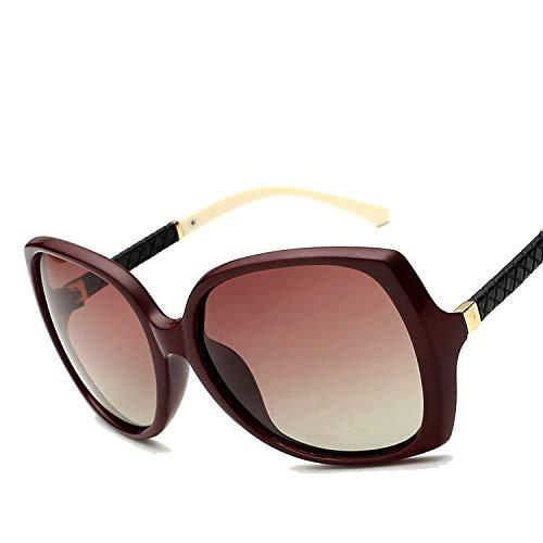 polarized sunglasses ladies the tide polarizer sunglasses,TAC polarized lenses,Outside tea white (light)