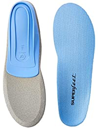 BLUE Insoles, Professional-Grade Orthotic Insert for Medium Thickness and Arch, Unisex, Blue