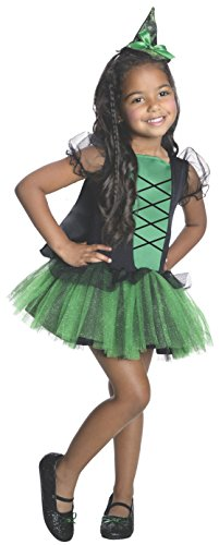 Rubies Wizard of Oz 75th Anniversary Wicked Witch Of The West Tutu Dress Costume, Small (4-6) (Witch Girl Costume)