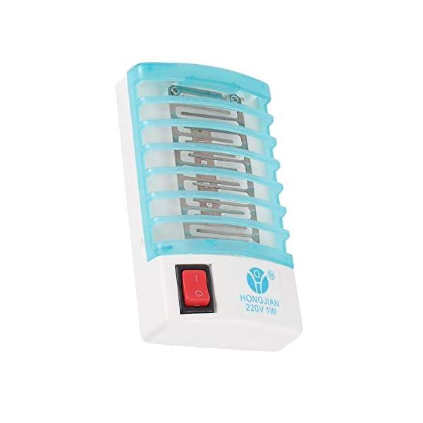Hnourishy Fotocatalizzatore Lampada Anti-zanzara Lampada Repellente per zanzare Silenzioso Bug Insect Light Pest Control… 3 spesavip