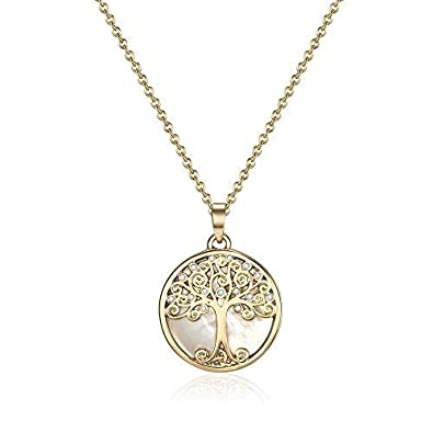 fad52da59 Image Unavailable. Mestige Gold Willow Tree of Life Necklace with  Swarovski® Crystals ...