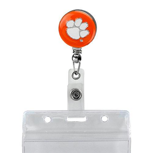 SANDOL Clemson Tigers Retractable Badge ()