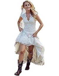 Amazon.com: High-Low - Wedding Dresses / Wedding Party: Clothing ...