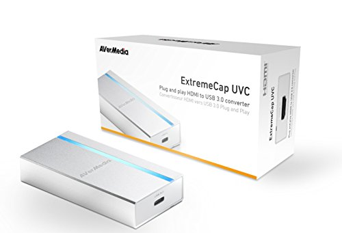 AVermedia Extreme Cap UVC HDMI to USB 3.0 Capture card, Driver Free, Supports Windows Mac and Linux OS (BU110)