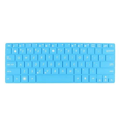 Amazon.com: eDealMax Teclado portátil Protector de la película Azul de la cubierta Para Asus UX21 / X201 / X202 / S200: Electronics