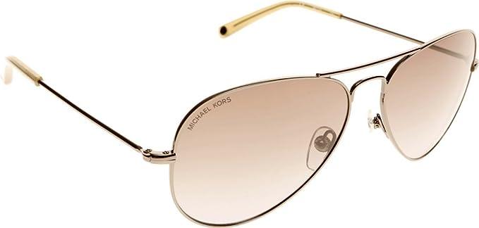 351ea5c009 Michael Kors Rachel Aviator Sunglasses in Gunmetal  Amazon.co.uk  Clothing
