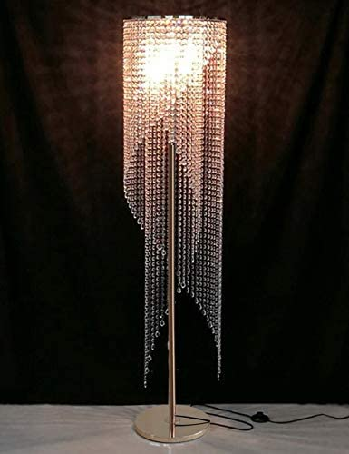 Surpars House Raindrop Crystal Floor Lamp French Golden