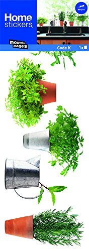 Stickers Fenêtres Herbes aromatiques 1 Nouvelles Images La Carterie HOWI 011