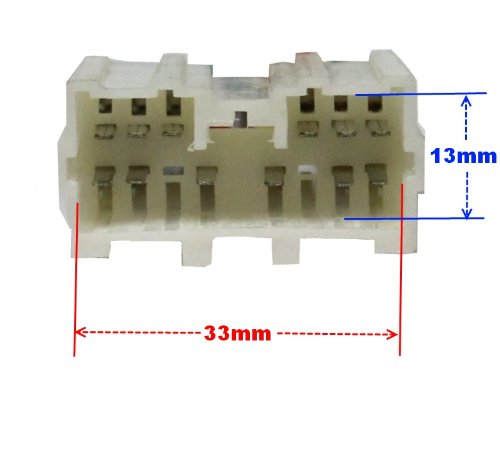 AERZETIX-E7 Adapter Cable Converter ISO Radio Cable Radio Adapter Jack Iso-Compliant Cable Lead for MITSUBISHI