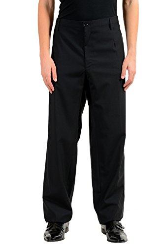 Dolce & Gabbana Men's Silk Wool Tuxedo Black Dress Pants US 44 IT 60 (Tuxedo & Dolce Gabbana)