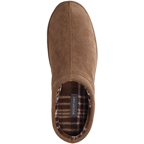 Indoor Clog Memory Foam Rockport Shoe Clog Suede Mens Taupe Slipper Outdoor qxSpx5ITYw