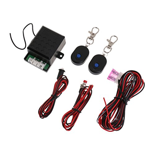 MagiDeal Remote 12V Universal Car Immobilizer Anti Theft Alarm Security System Kit (Theft System Anti Immobilizer)
