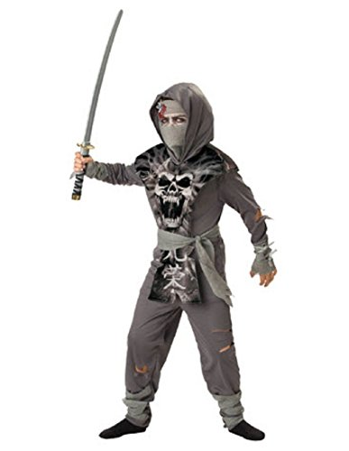 InCharacter Costumes, LLC Boys 8-20 Zombie Ninja Tabard