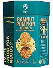 WhatIF Foods BamNut Pumpkin Noodles with Cheeky Curry Seasoning (375g, 5 servings)