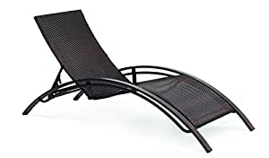 TUMBONA ALUMINIO Y RATTAN. Tumbona Perfecto para el Jardin y la Terraza. Aluminium Sun Loungers