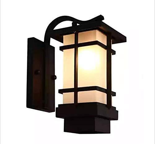 Europäische Wand Lampe, Moderne Minimalistische Korridor Schlafzimmer Wohnzimmer Balkon Wand Wasserdichte Wand Lampe