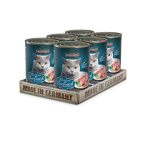 Leonardo Quality Selection [6x200g/400g/800g Multipack] | Getreidefreies Nassfutter für Katzen | Feuchtfutter…
