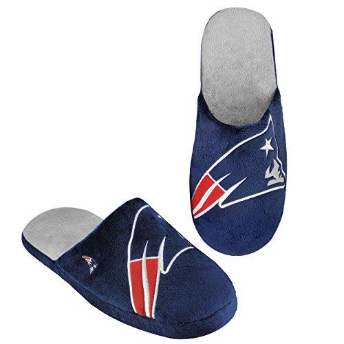 NFL New England Patriots 2011 Big Logo Slide Slipper Hard Sole Extra Large