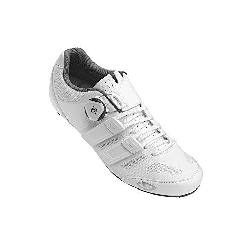 Giro Raes Techlace White Womens Road Bike Shoes Size 40.5 6AUUA