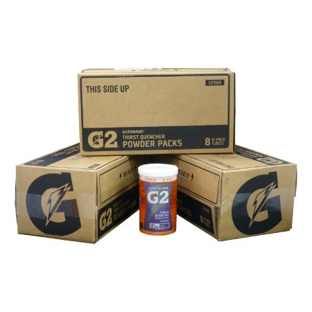 Gatorade G2 Powder Sticks - 3 Case Package Fruit Punch, Grape, and Glacier Freeze by Gatorade