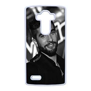 LG G4 Cover , Kendji Girac Cell phone case White for LG G4 - KS888-124316